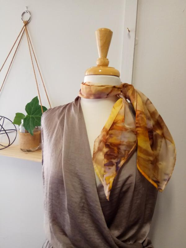 Silk Scarves Workshop